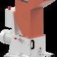Bild der Wanner C17.26 sv Kunststoffschneidmühle. ISO Ansicht. Die Schneidmühle für Plastik und Kunststoffe, zentral oder als Beistellmühle. Liefert bei der Zerkleinerung von Angüssen, Butzen und Blasformen feinstes Mahlgut.